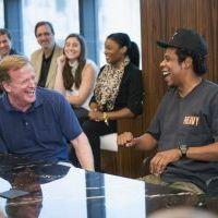 Rapper Jay-Z & NFL Are BFFs…
