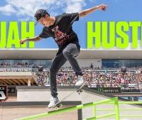 Lewis Hamilton and Nyjah Huston: Breaking down walls of non-traditional sports.