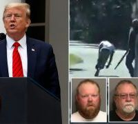 Is Donald Trump Trying to Convict Ahmaud Arbery, and Acquit His Murderers?