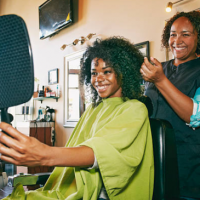 Seven Fun Styling Tips for Shorter Afro Hair.