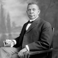 Tuskegee University Founder Booker T. Washington and the Many He Influenced.