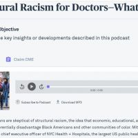 Really, No Physician is Racist!!