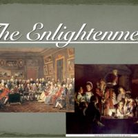 The End of 'the Enlightenment'.