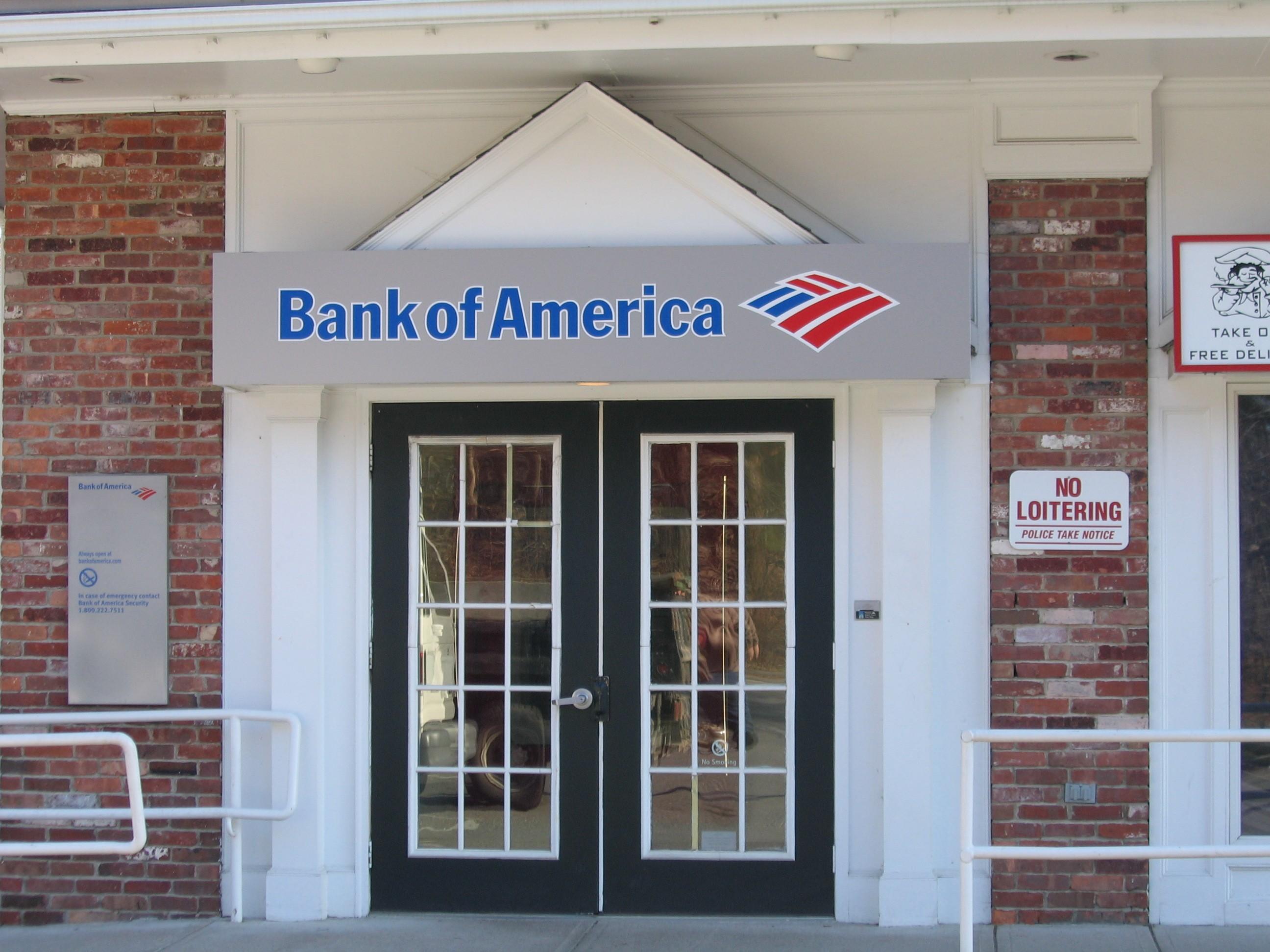 my money network bank of america