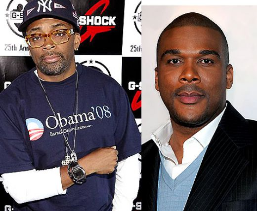 tyler perry. Tyler Perry To Spike Lee: Go