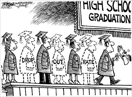 highschool drop out rates What percentage of students graduated from my local high school in four years part d have a building-level graduation/dropout rate.