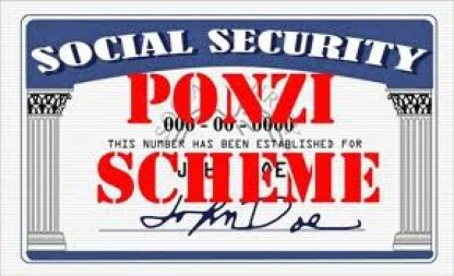 Image result for social security is a ponzi scheme
