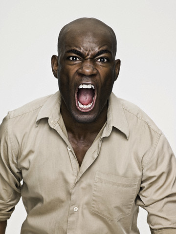 Angry Black Man, Maybe Not! : ThyBlackMan