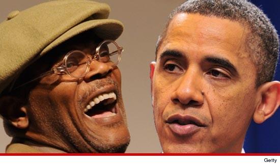 samuel Jackson voted for Obama is black