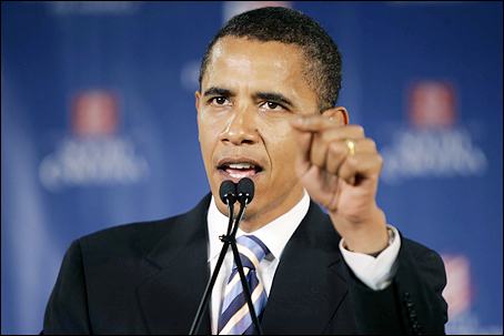 Obama - famous for his presentations as president