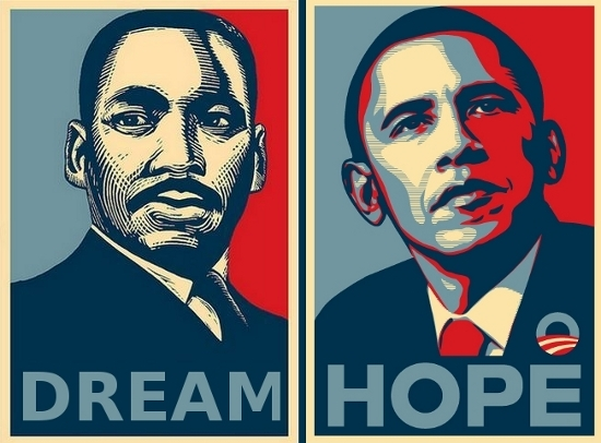 obama and mlk Comparison compare contrast - a comparison of i have a dream by martin luther king and victory speech by barack obama.