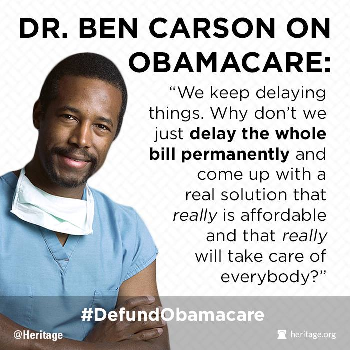 Dr. Ben Carson is the Worst Thing to Happen to Us since He ...