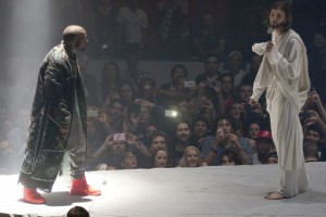 EXCLUSIVE: Kanye West face to face with Jesus Christ during Yeezus Tour