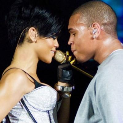 Chris Brown And Rihanna 2007