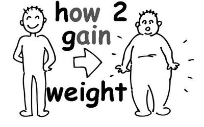 Five Healthy Ways To Gain Weight.