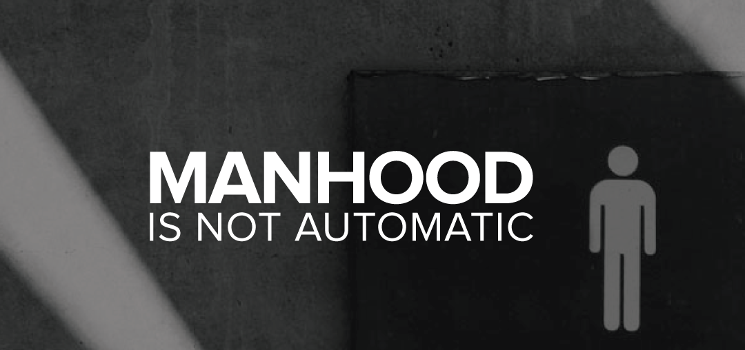 Is Black Manhood Slowly Being Redefined Right Up Under Our Noses?