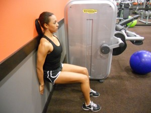 an easy wall workout for toned legs  thighs  thyblackman