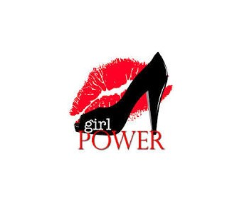 Womens Hands Girl Power Feminism Symbol Stock Illustration ... |Geek Power Girl Symbol