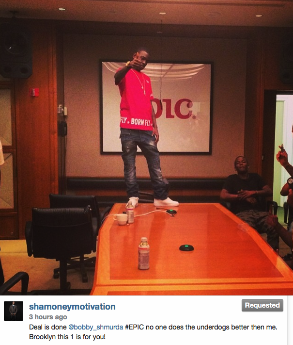 Rapper Bobby Shmurda's Performance At Epic Records Made Me