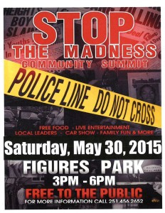 STOP THE MADNESS COMMUNITY SUMMIT 2015