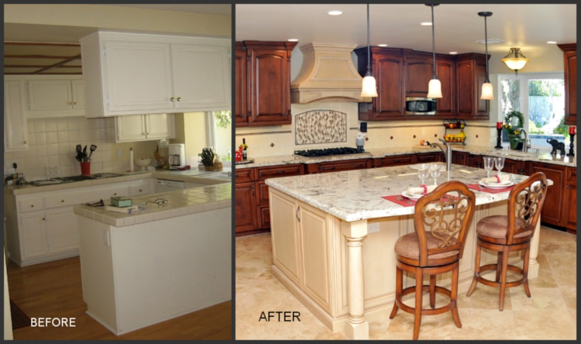 Creative Ideas for Kitchen Remodeling. : ThyBlackMan.com