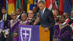 Obama eulogizes Rev. Pinckney