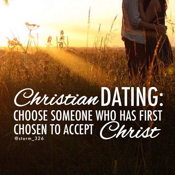 Being a christian dating a non christian