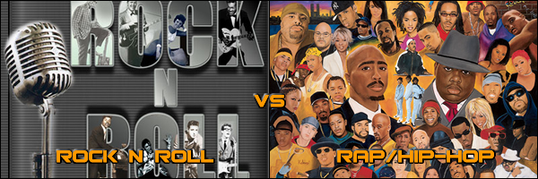 rock vs rap Cypress hill reached multiple markets with (rock) superstar and (rap)  superstar although well-known the songs were not huge hits.