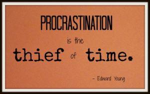 Procrastination-2016