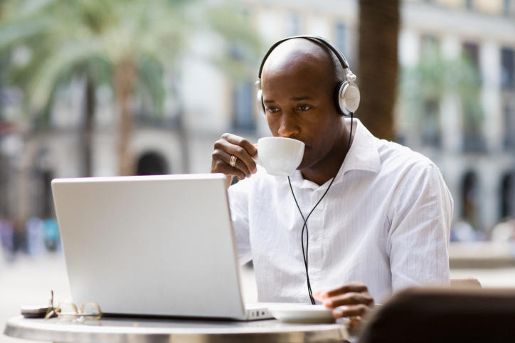 internet black man
