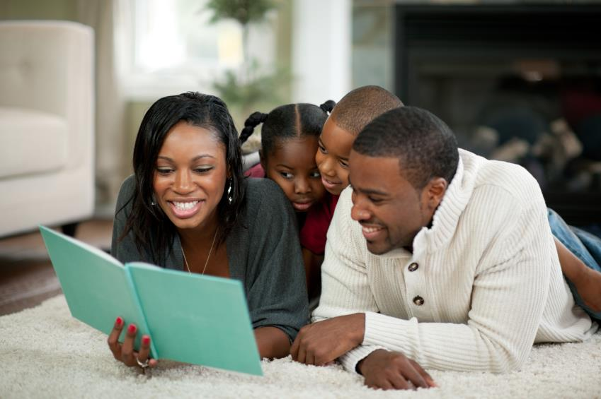 Image result for black parent with kids