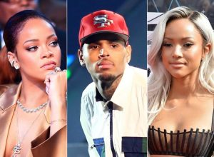 Rihanna and chris brown instagram are not