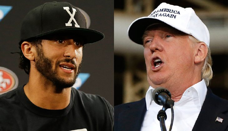what does colin kaepernick and donald trump have in common