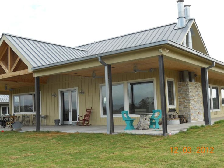 The Different Roof Options for Steel Buildings. : ThyBlackMan