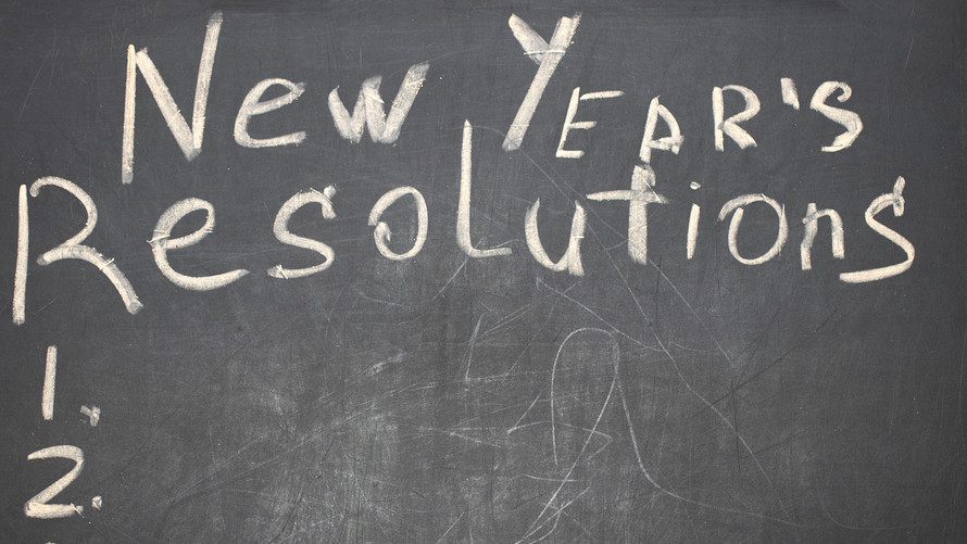 how to make new year resolutions and stick to them
