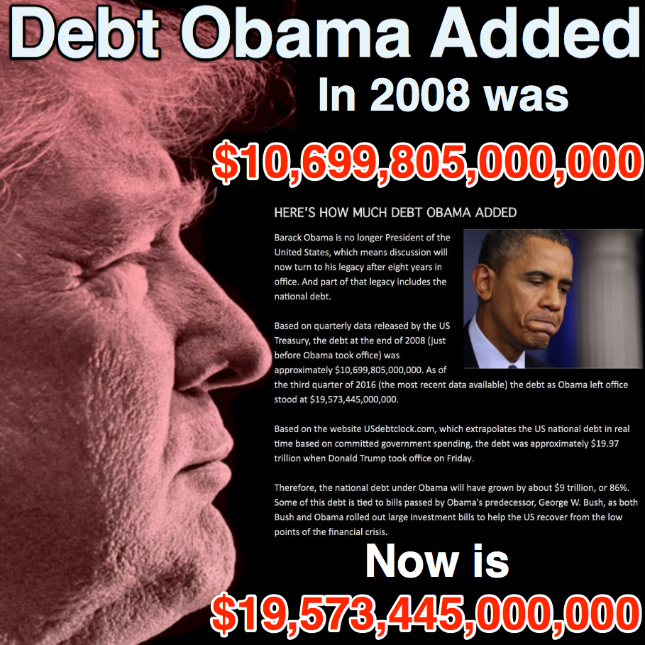 Barack obamas real debt deficit legacy amazingly barack obama is being heralded as a deficit slayer who helped get our fiscal house in order whats next richard nixon was really a pussycat publicscrutiny Images