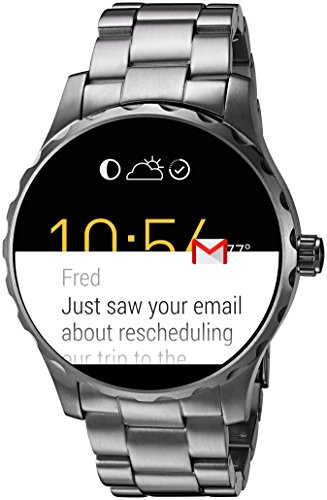 Why Apple Should Feel Threatened By Fossil Smartwatch.