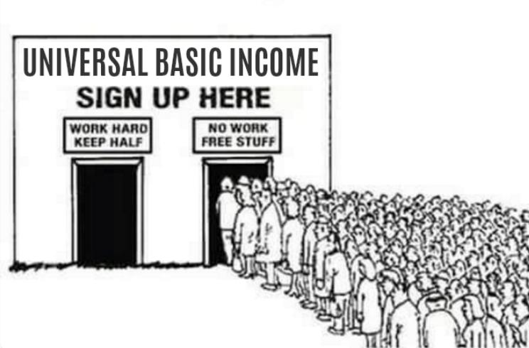 Universal Basic Income.