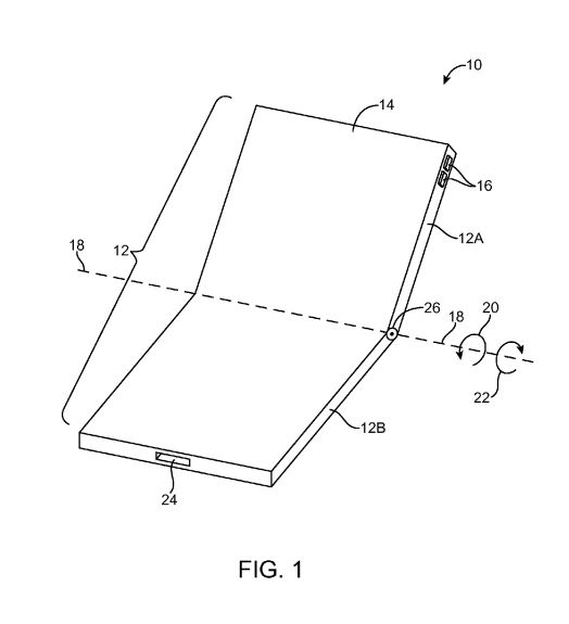 Motorola, Microsoft File Patents for Foldable Smartphones