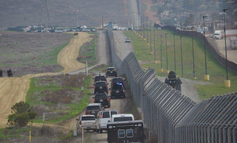 Trump in rape claims over migrant caravan
