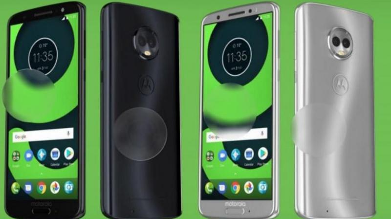 Motorola Moto Z3 leak in renders, revealing a primary feature