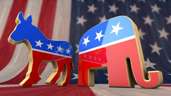 democrats - republicans