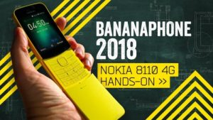 Buy Nokia 8110 4G Banana Phone If You Want A 'Dumb' Phone.