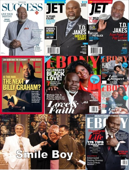 Bishop T D  Jakes - Proof He Is A Fake