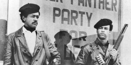 Bobby Seale And Huey Newton Black Panther Party Mi...