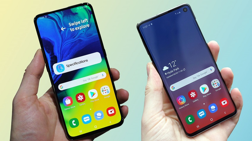 Samsung Galaxy S10's Design was Amazing? Wait Until You See the Galaxy A80.