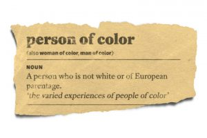 "Stop Saying ""People of Color""."