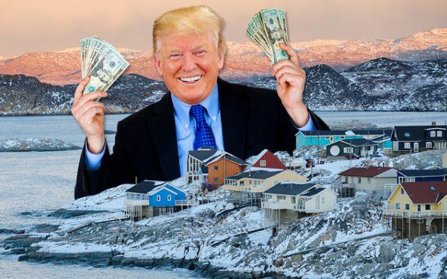 Trump Grönland