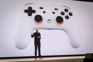 Google's Further Pushing Into Gaming With Stadia.