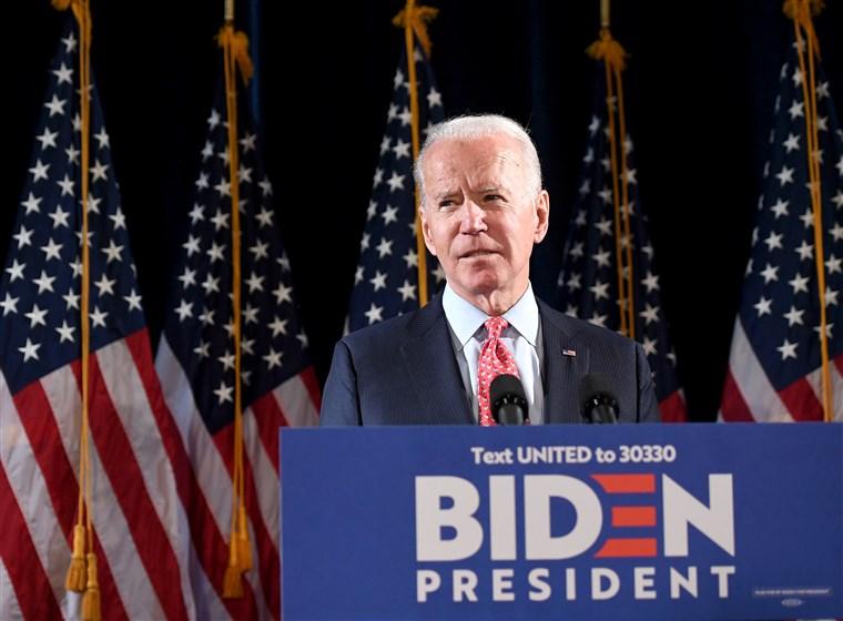 joe biden and trump and democrats